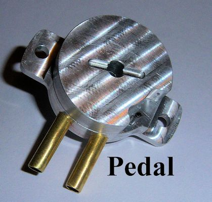 Solid Aluminum Pedal Switch