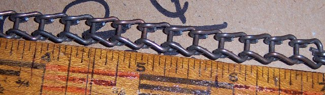 Ladder Chain for Player Pianos