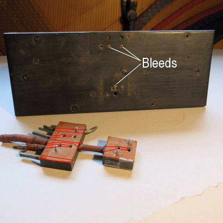 Outside of valve manifold