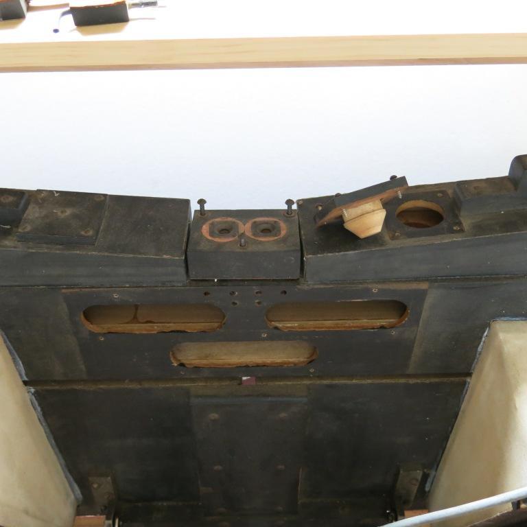 Inside of Manifold - Valves Removed