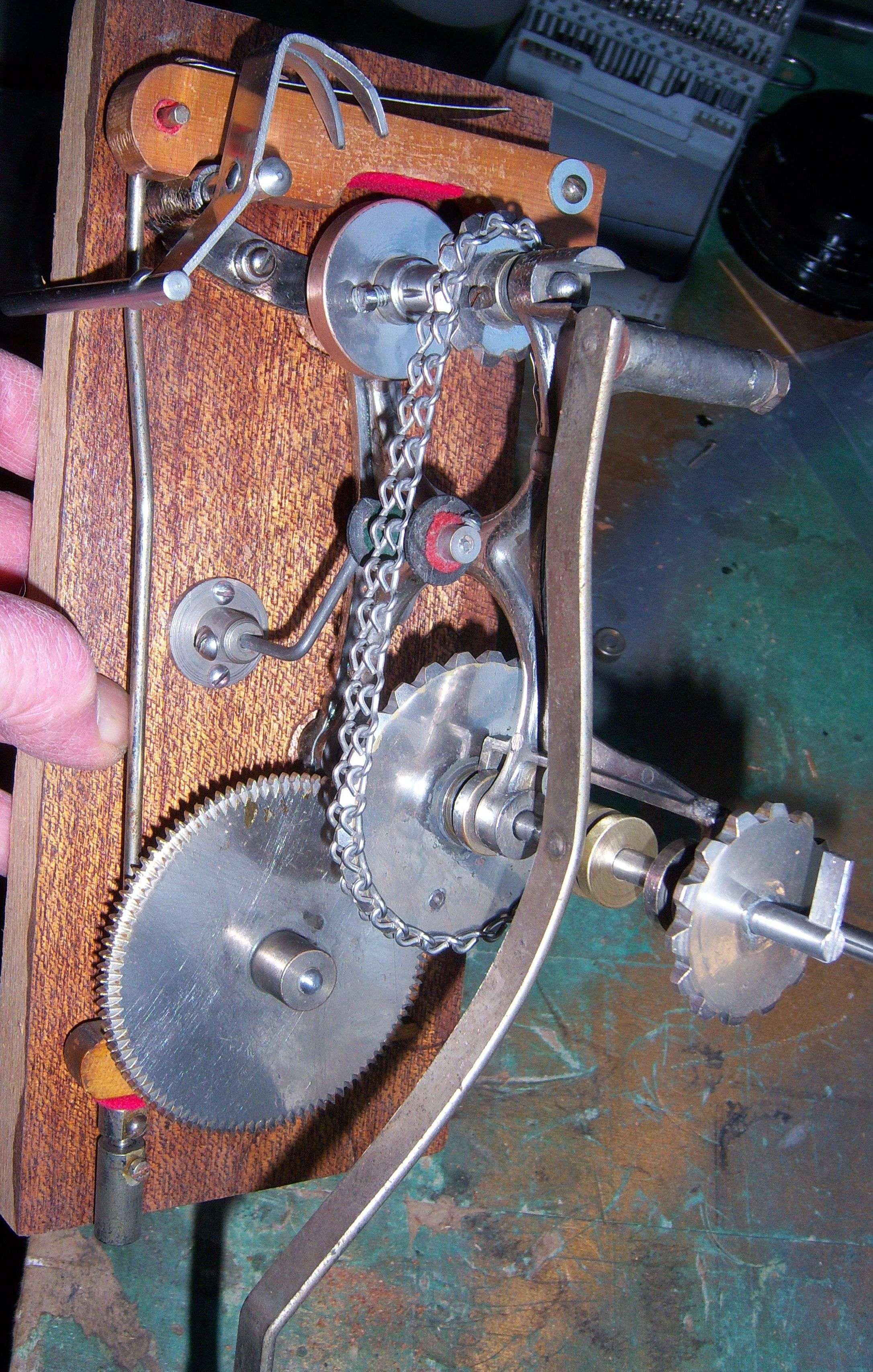 assembled transmission