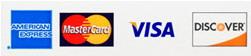 Discover, VISA, Master Card