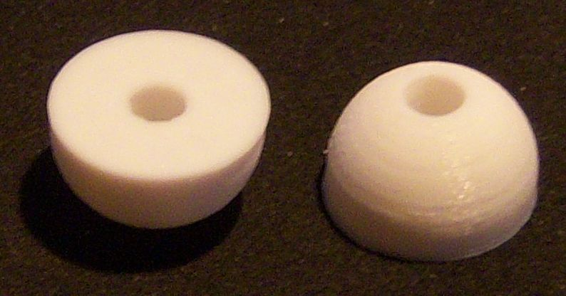 Plastic Ampico 'A' Primary Valve Button