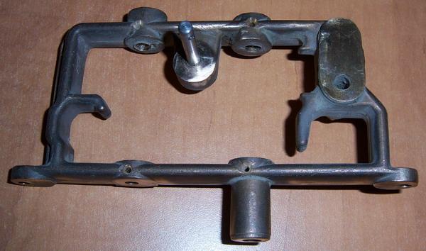 Brass Ampico Transmission Frame