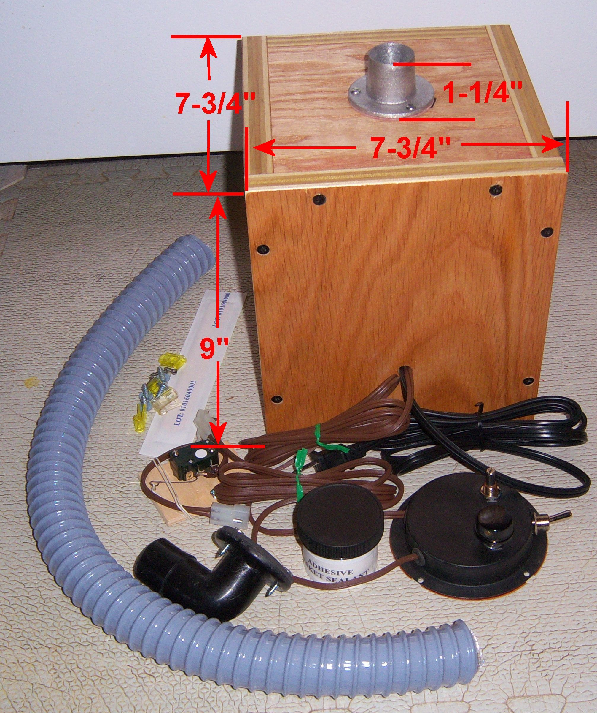 Electric Vacuum Pump And Deluxe Automation Kits For Player Pianos Wiring Diagram Click Larger Image