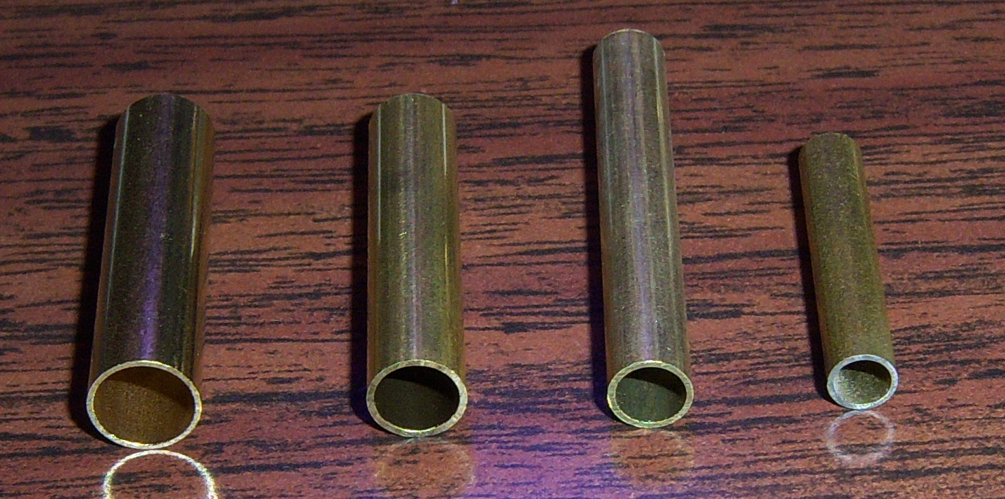 Straight Nipples and Tubing Connectors for Player Pianos