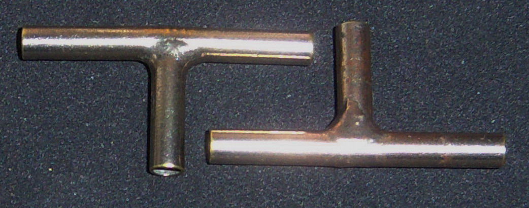 Nickel-Plated T Connector