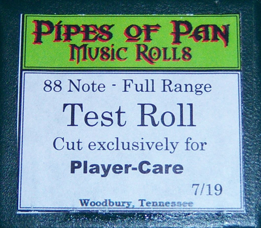 Using the Player-Care Test Roll
